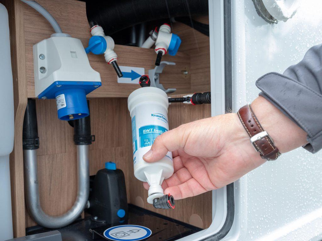 Knaus Tabbert BWT Wasserfilter-System