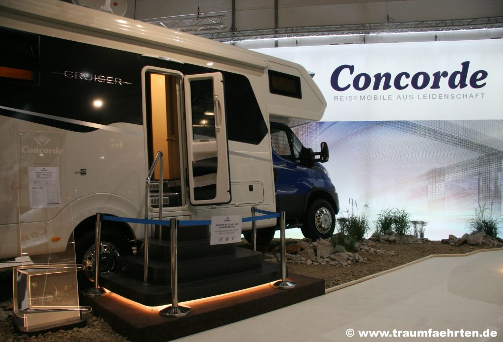 Concorde Cruiser auf Iveco