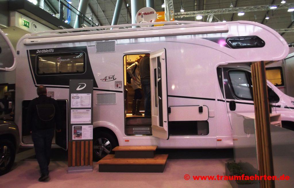 Dethleffs ALPA Campingmesse CMT in Stuttgart 2018