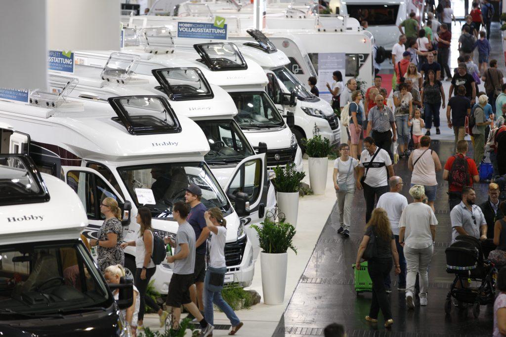 Wohnmobil-Kauf auf dem Caravan Salon