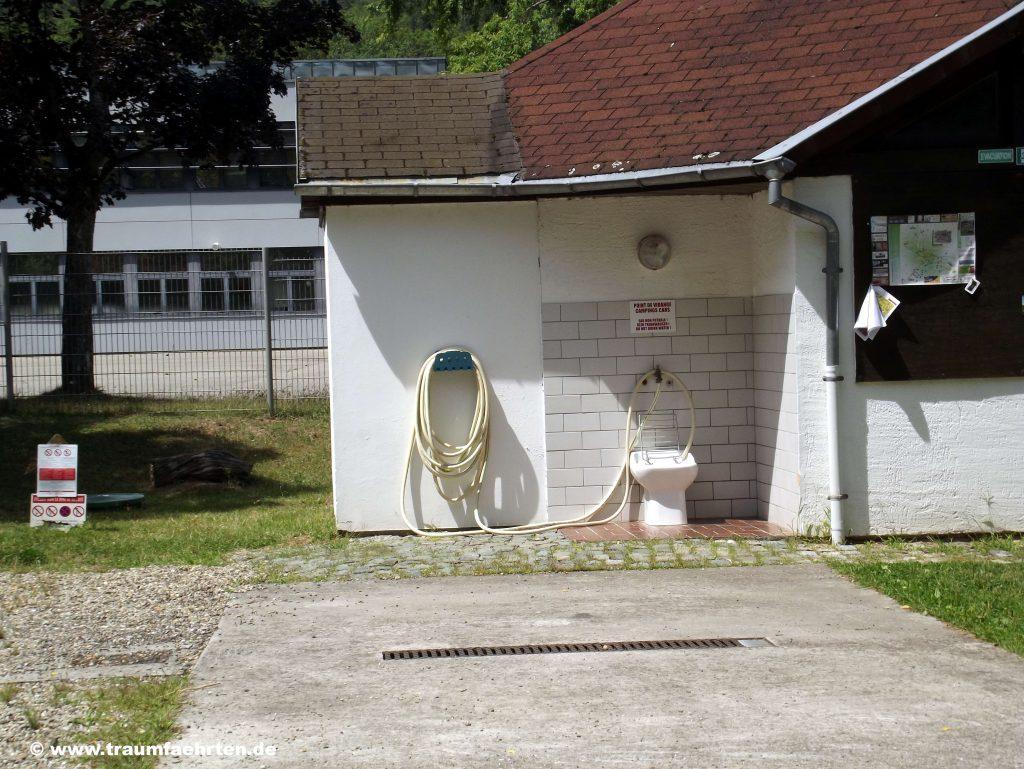 Ver- und Entsorgung Camping Wingen-sur-MOder