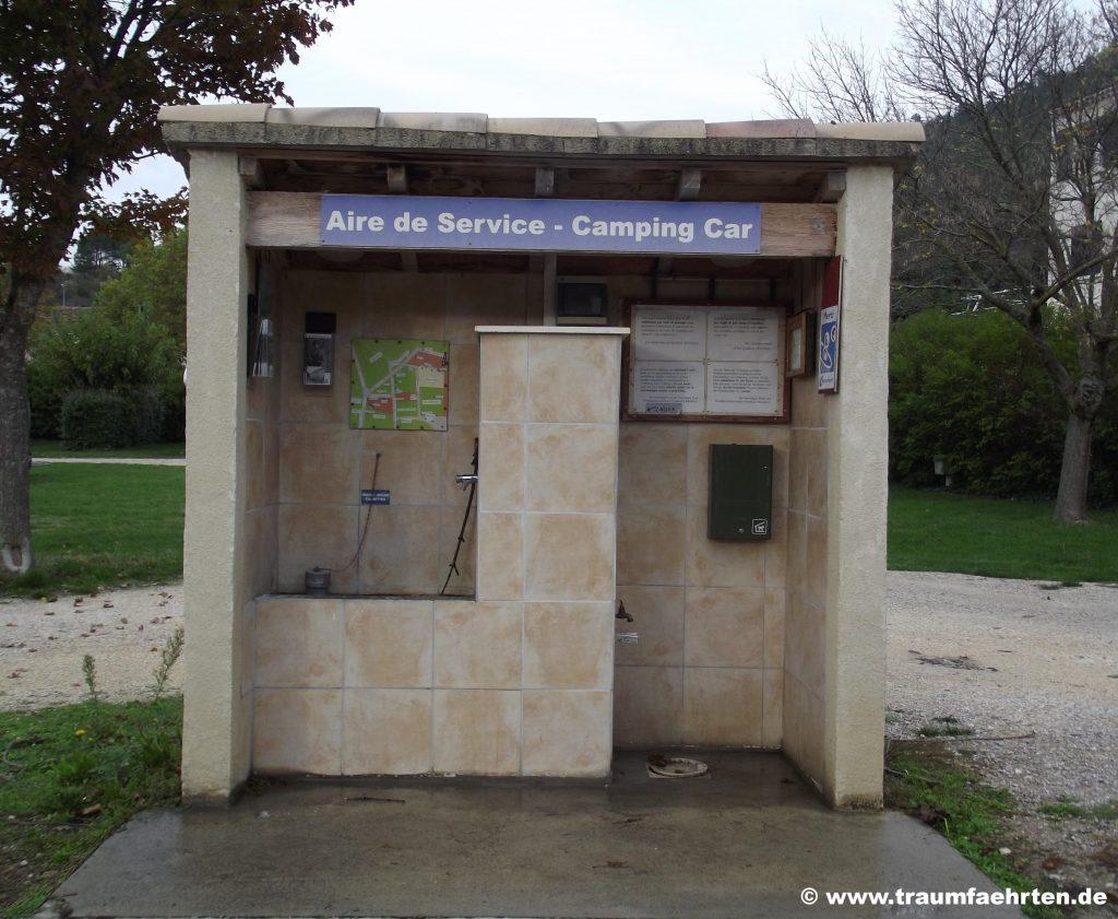 Versorgunsstation Frankreich
