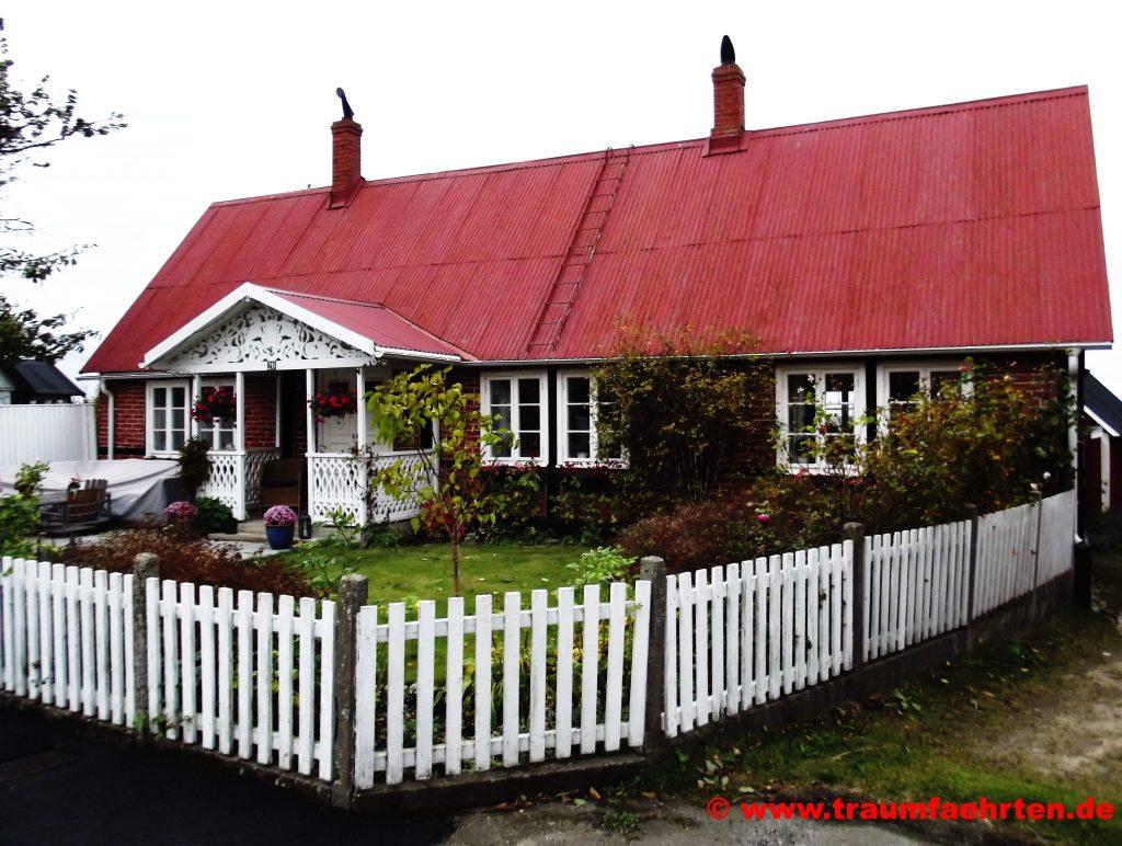 Mit dem Wohnmobil nach Schweden Haus in Kivik