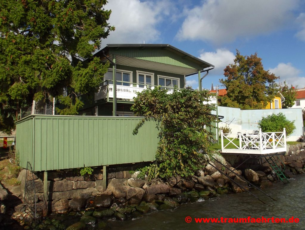 Mit dem Wohnmobil in Schweden Haus in Hajo