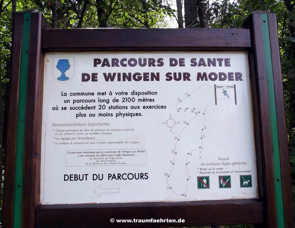 Parcours de Santé Wingen-sur-Moder