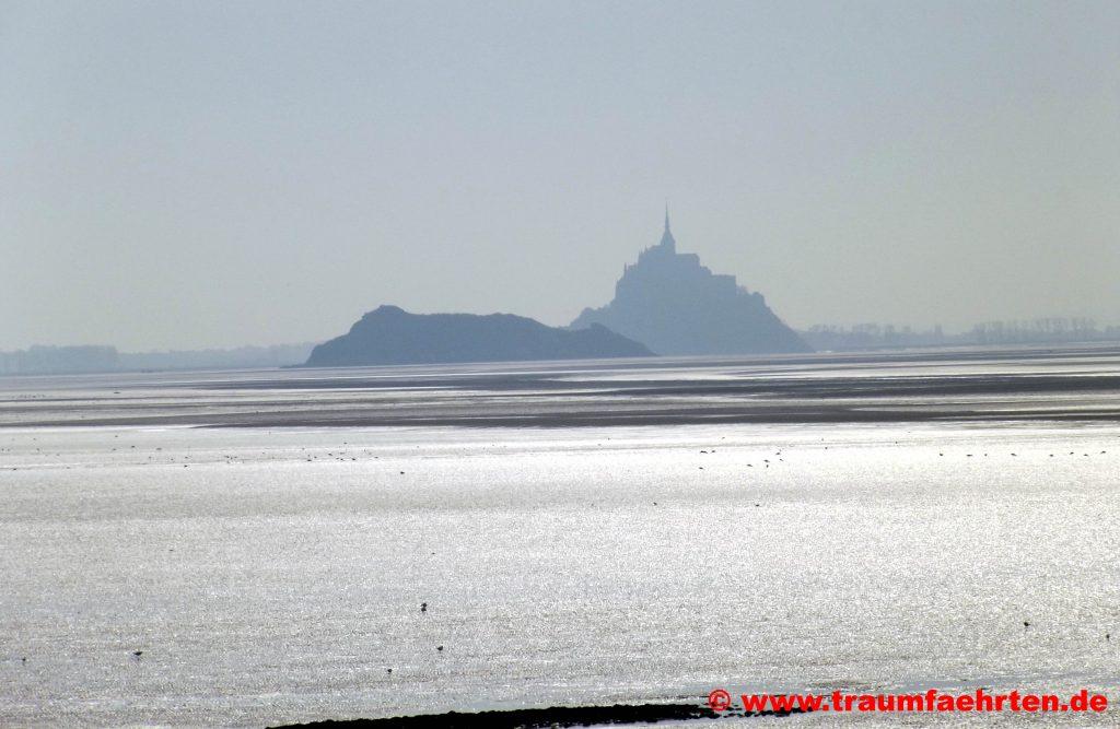 Stellplatz mit Blick auf den Mont-Saint-Michel