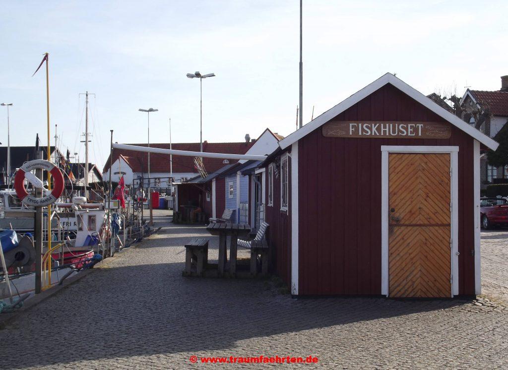 Fischerhäuschen am Hafen