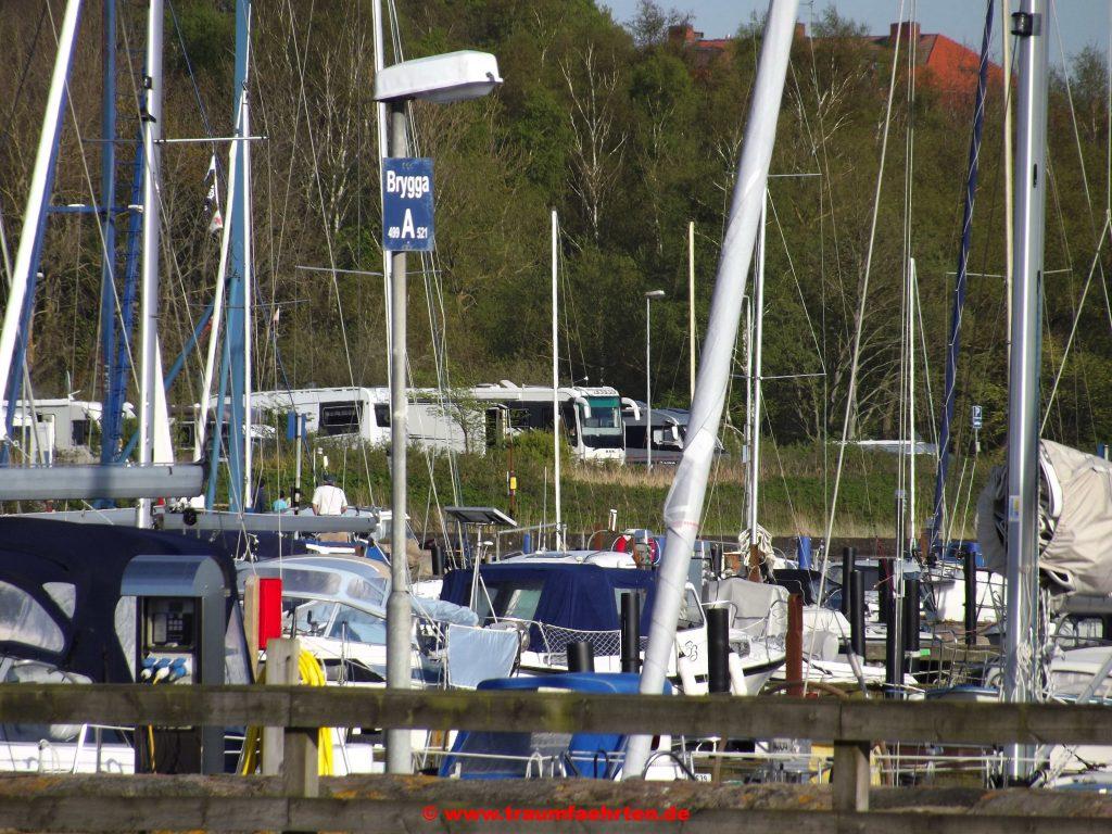 Wohnmobilstellplatz in Råå