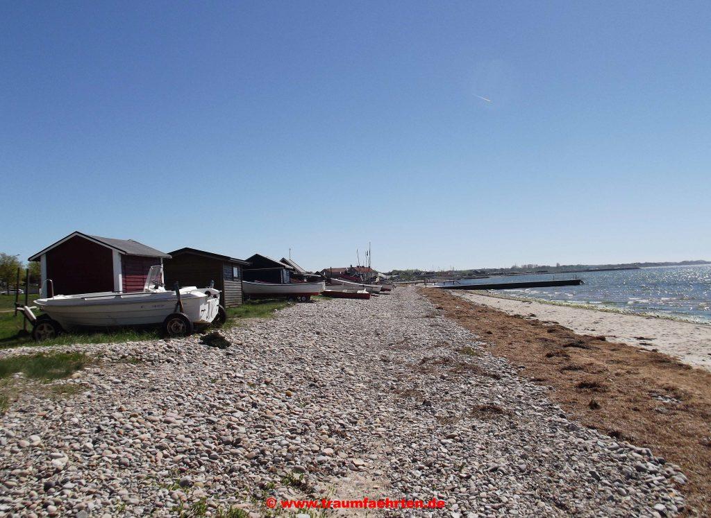 Strandhütten in Råå