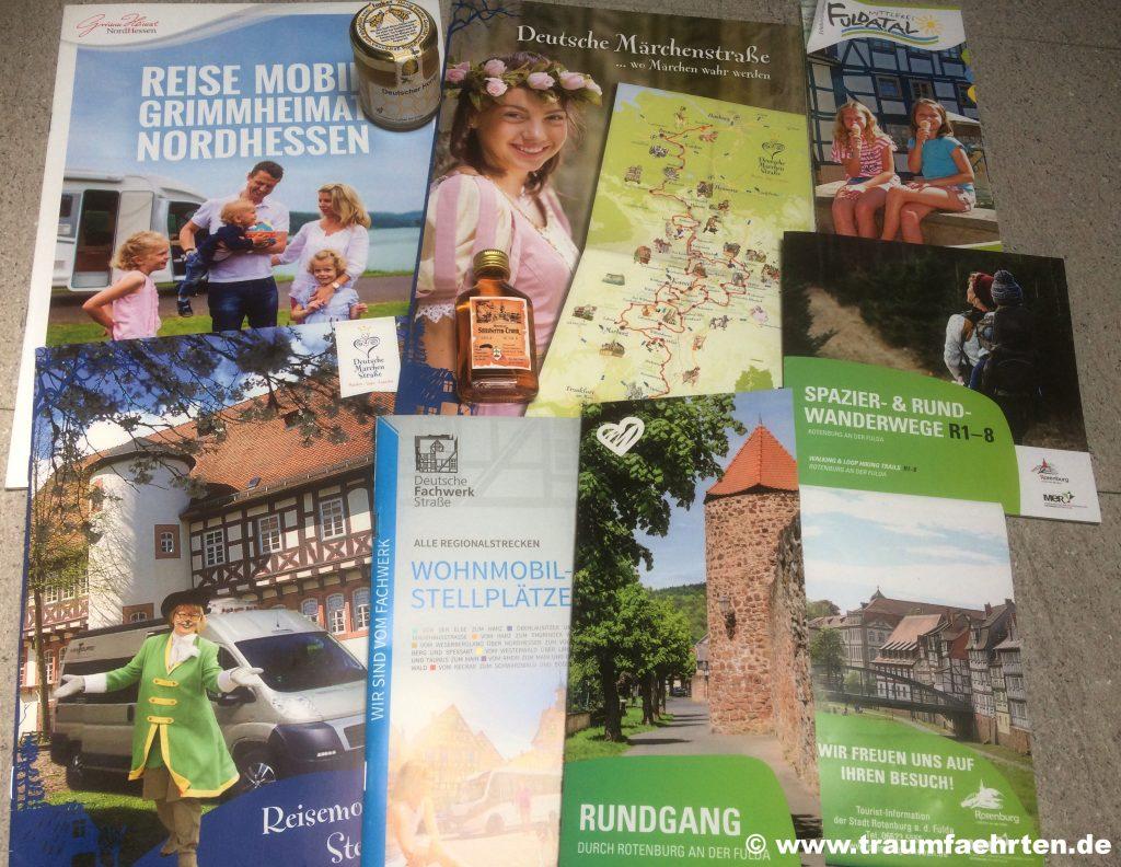 Rotenburg an der Fulda Info-Material von der Tourist-Information