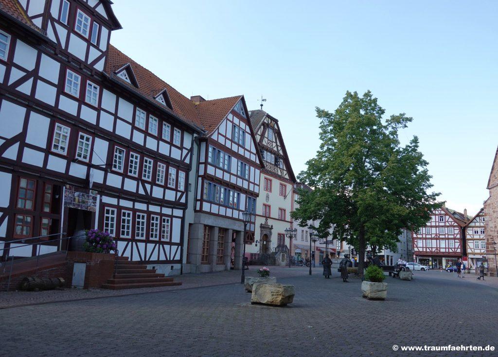 Rotenburg an der Fulda Marktplatz