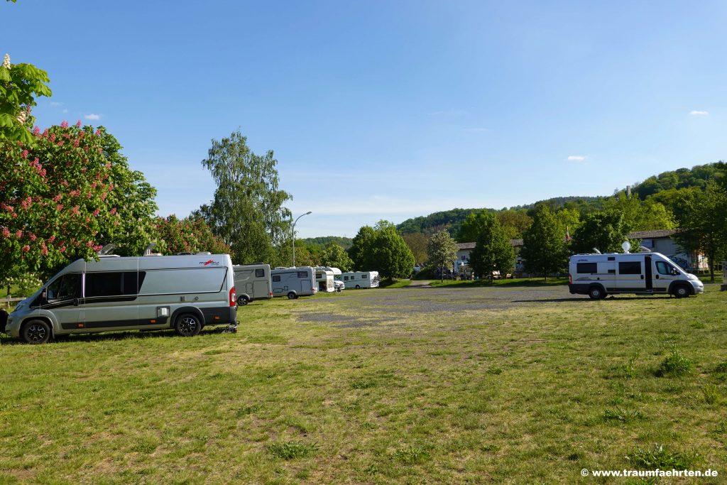 Rotenburg an der Fulda mit dem Wohnmobil