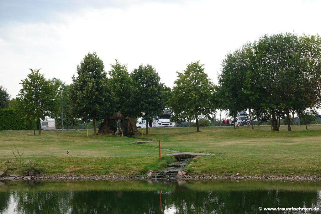 Wohnmobilstellplatz Golfclub Gut Sansenhof