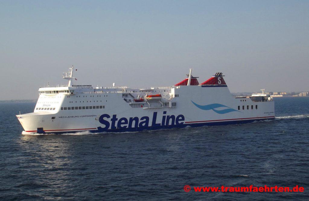 Mit dem Wohnmobil nach Schweden Stena Line