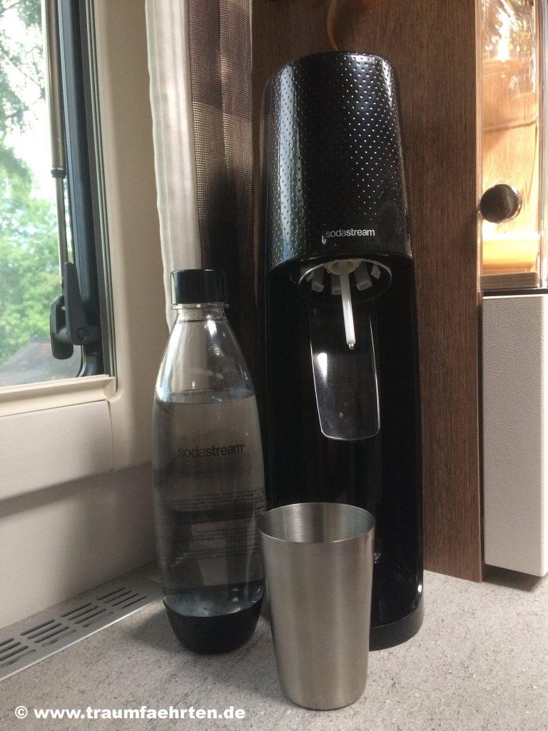 Wassersprudler fürs Wohnmobil