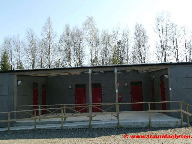 Gekas mit dem Wohnmobil Stellplatz Sanitär
