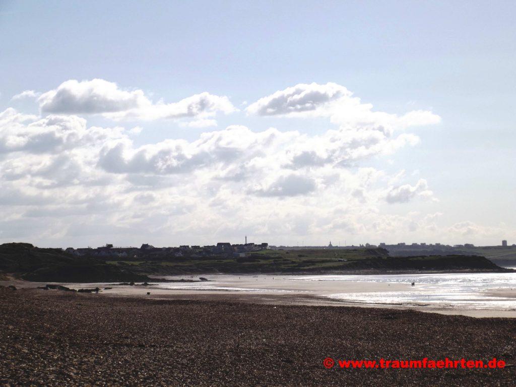Strand bei Wimereux Nordfrankreich