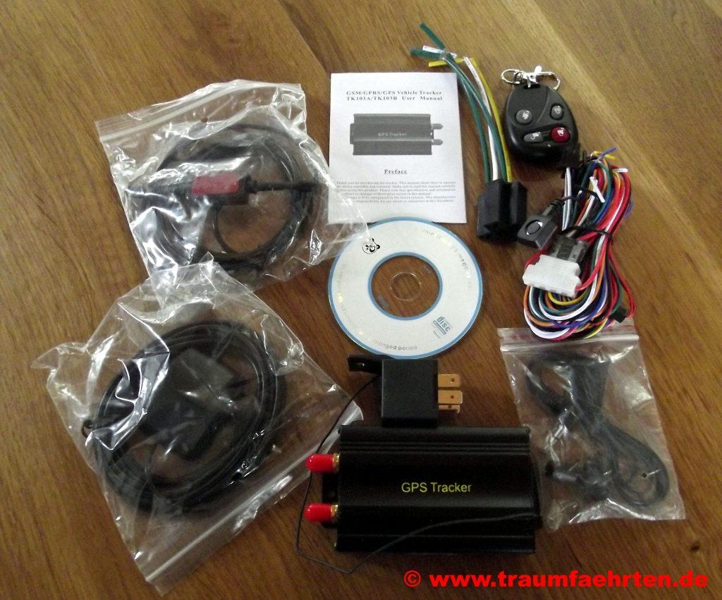 Wohnmobil GPS-Tracker Bestandteile
