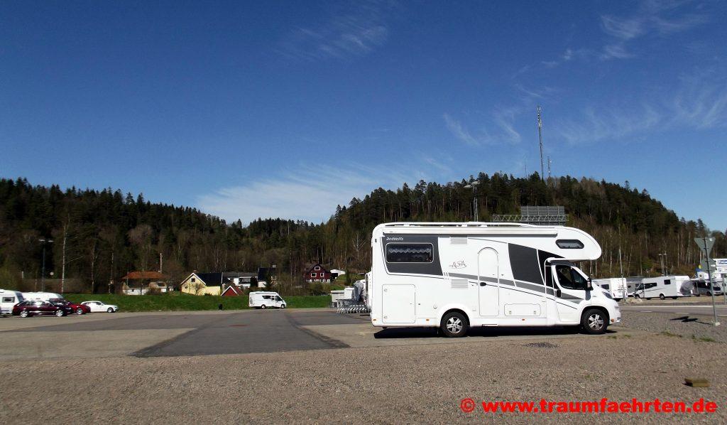 Gekas mit dem Wohnmobil Tagesparkplatz Wohnmobile ALPA