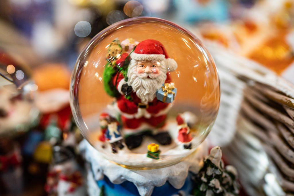 Weihnachtsmann Kugel